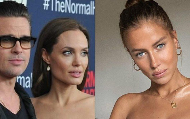 Em meio a divórcio com Angelina Jolie, Brad Pitt namora modelo 30 anos mais  jovem · Notícias da TV