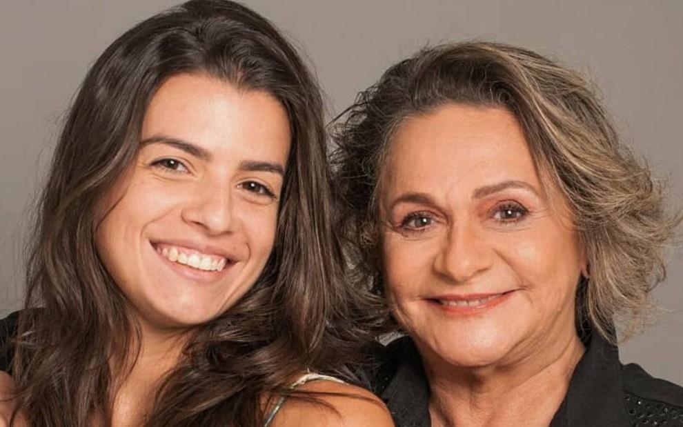Foto da cantora e assistente Fernanda Lorenzoni com a atriz Fafy Siqueira em foto publicada nas redes sociais