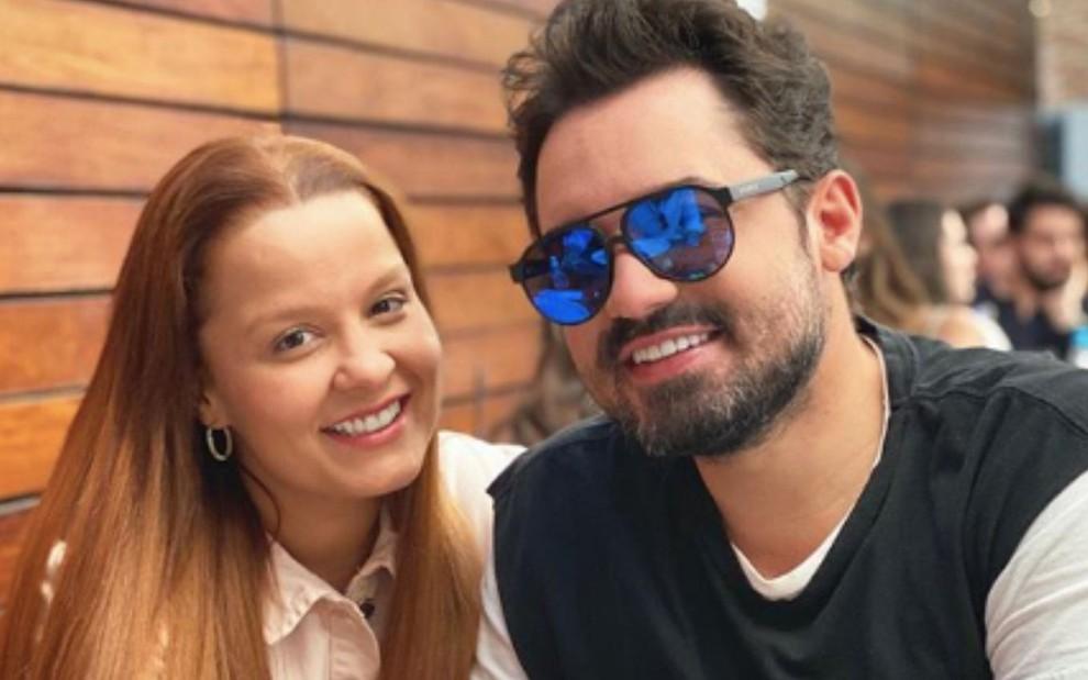 Fernando Zor e Maiara reatam mais uma vez: 'Deixo ir, só pra ver voltando'  · Notícias da TV