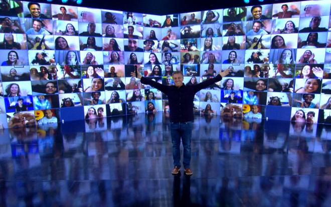 TV | Caldeirão do Huck volta a ser gravado dos estúdios da Globo
