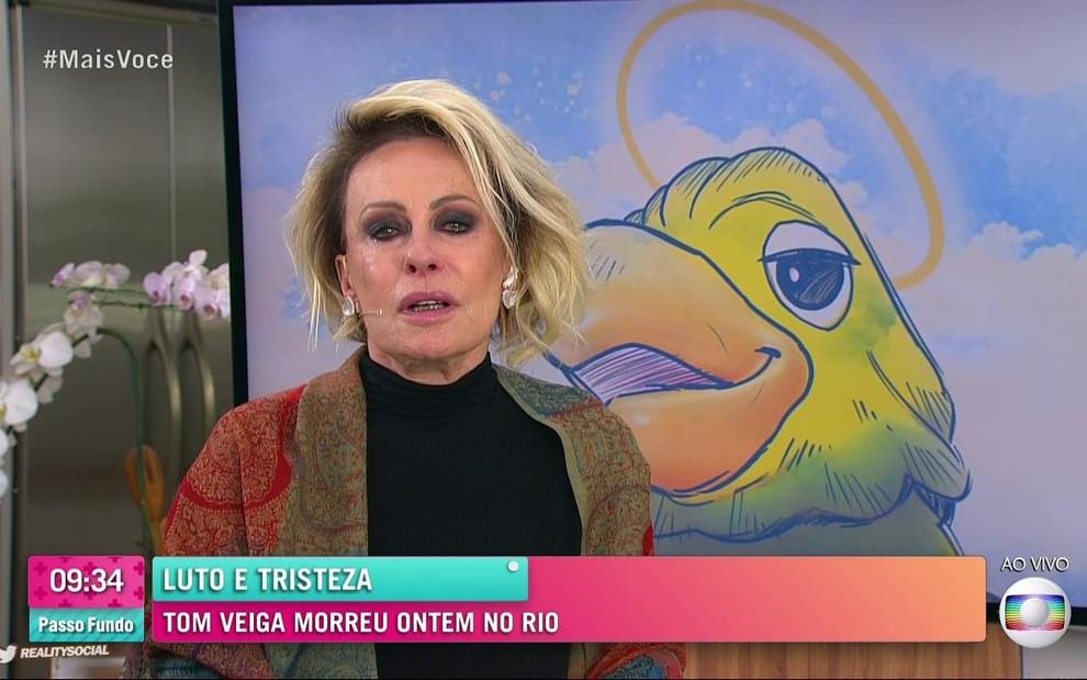 Ana Maria Braga, Tom Veiga, Louro Jose, Mais Voce, Rede Globo, Globo, Tributo Tom Veiga
