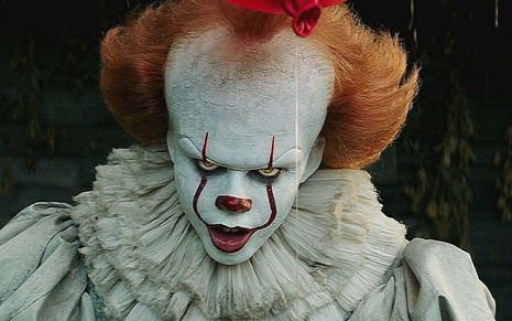 Pennywise no filme It: A Coisa