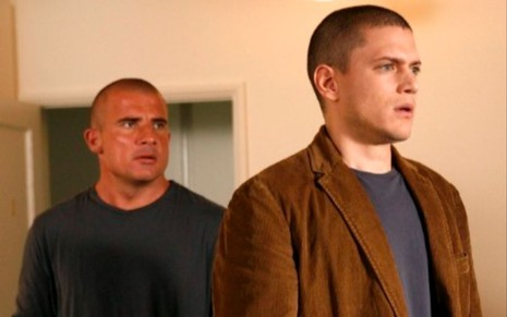Dominic Purcell e Wentworth Miller em cena de Prison Break (2005-2009; 2017)
