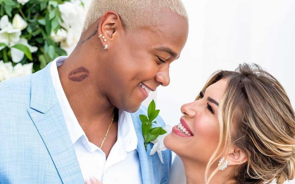 Resultado de imagem para Léo Santana e Lore Improta casamento