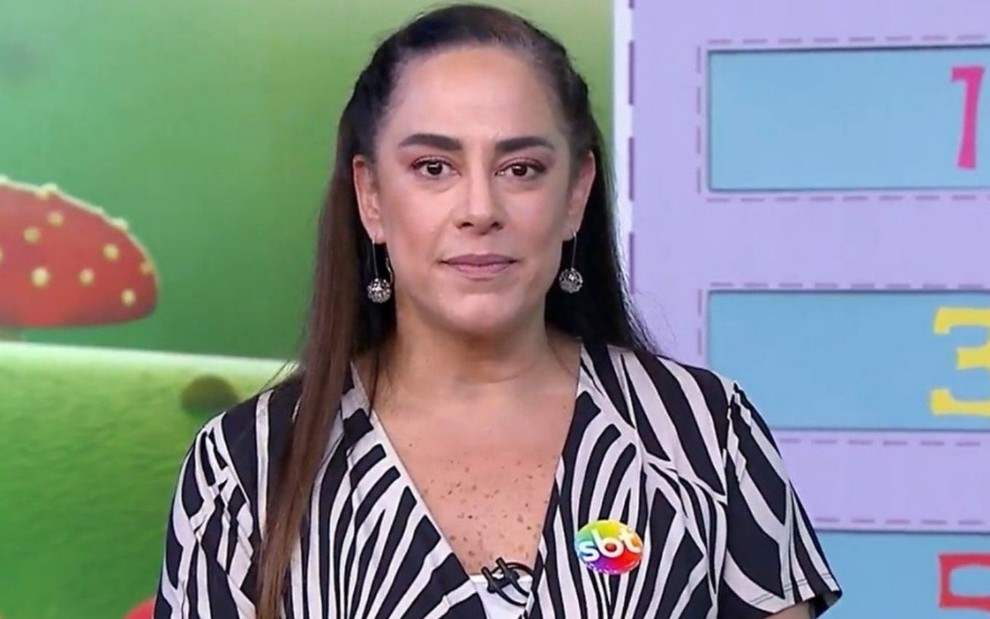 Silvia Abravanel SBT Bom Dia & Cia