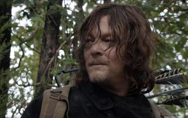 Norman Reedus como Daryl em episódios de The Walking Dead