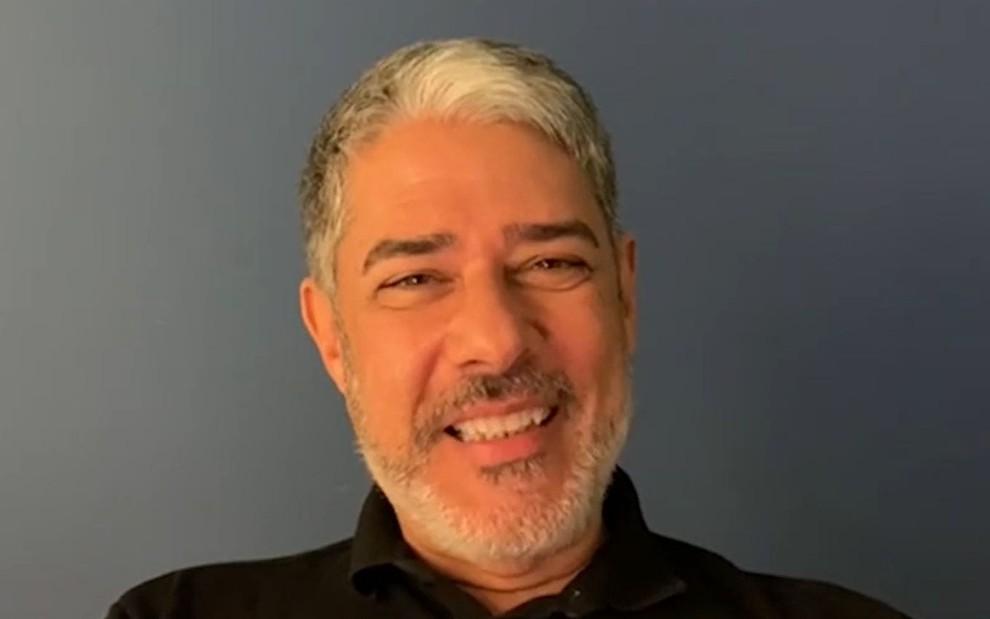 William Bonner revela que temeu reação negativa por barba no Jornal  Nacional · Notícias da TV