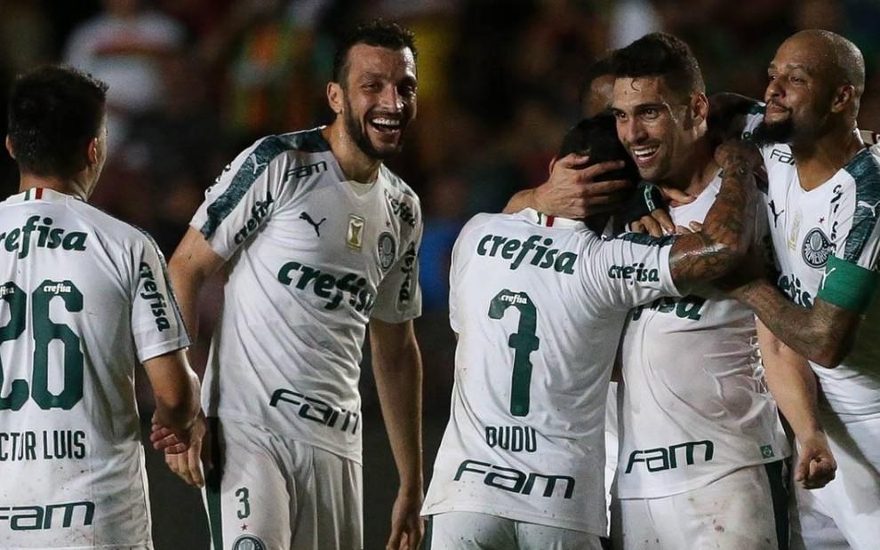 Palmeiras vs sampaio correa ao VIVO