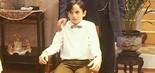 Aos 14 anos, Caio Junqueira interpretou Quindinho em Desejo, minissérie da Globo exibida em 1990