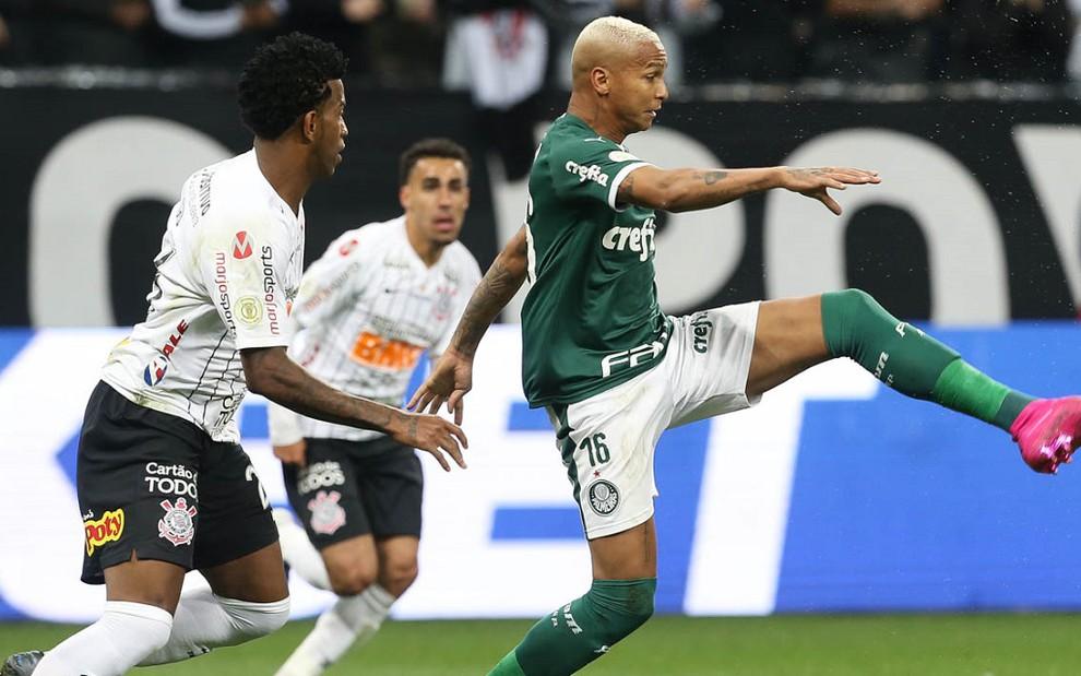 Em novo horário, Corinthians x Palmeiras é mais visto do que