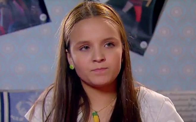 9322b432276db Larissa Manoela (Isabela) em cena de Cúmplices de um Resgate, do SBT -