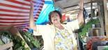 DONA XEPA - FOI BEM: O humor leve garantiu bons momentos à história de Dona Xepa. O autor Gustavo Reiz conseguiu se distanciar de versões anteriores da trama, assim como Angela Leal, a protagonista Xepa (Foto: Munir Chatack/TV Record)