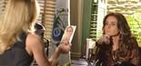 SALVE JORGE - FOI BEM: Giovanna Antonelli (Helô) roubou a cena da protagonista e se tornou a queridinha do público. Totia Meirelles (Wanda) deixou a vilã de Claudia Raia (Livia) de escanteio (Foto: Frederico Rozário/TV Globo)