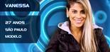 A modelo Vanessa Mesquita, de 27 anos, pratica fisiculturismo e é defensora da causa animal. A paulistana participou do resgate dos cães da raça beagle no Instituto Royal, em São Roque, interior de São Paulo (Divulgação/TV Globo)
