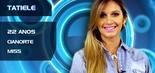 Tatiele Polyana, 22 anos, foi eleita em 2011 miss Cianorte, cidade paranaense onde nasceu. A modelo é conterrânea e amiga de Andressa Ganacin, terceira colocada no BBB 13 (Divulgação/TV Globo)