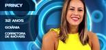 Princy Cavalcante tem 32 anos e mora em Goiânia. Divorciada, trabalha como corretora de imóveis (Divulgação/TV Globo)