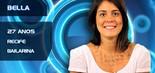 Natural de Recife, Bella Maia, de 27 anos, é bailarina e professora de dança contemporânea. Casada, a BBB pretende investir o prêmio do reality show em uma escola de dança e na carreira de atriz (Divulgação/TV Globo)