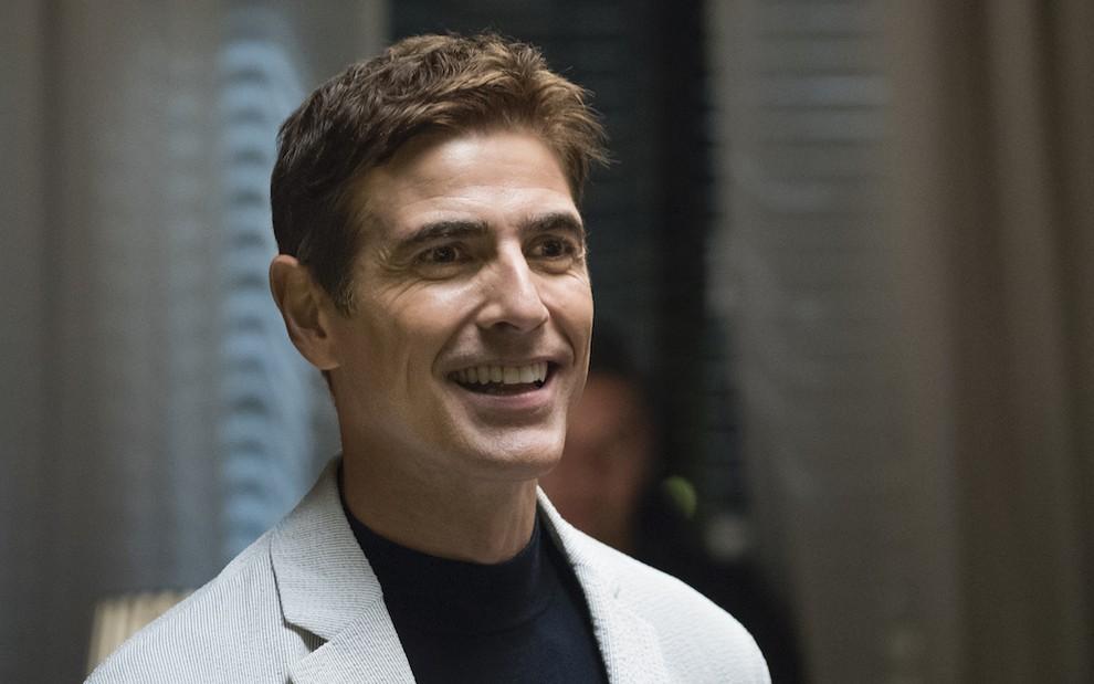 O ator Reynaldo Gianecchini em cena de A Dona do Pedaço, novela das nove da Globo