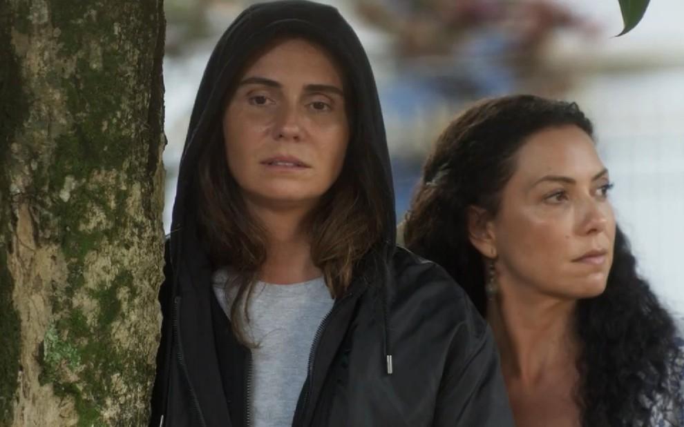 3cda98050 Giovanna Antonelli e Fabiula Nascimento em cena de Segundo Sol  opiniões  diferentes sobre o racismo