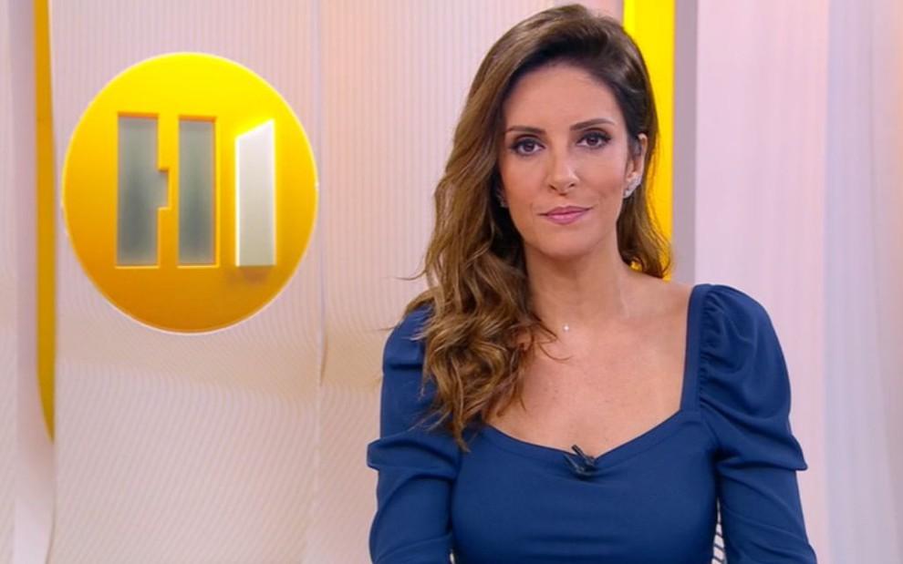 Monalisa Perrone no Hora 1 de hoje: jornalista troca a madrugada da Globo pelo horário nobre da CNN - Reprodução/TV Globo