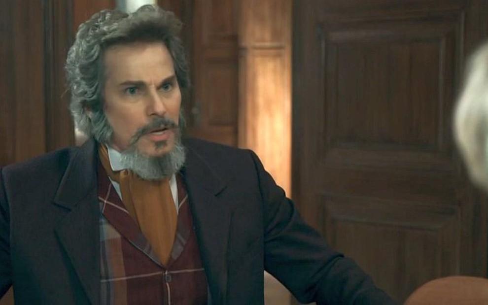 Dom Sabino (Edson Celulari) será roubado e continuará sem seus bens em O  Tempo e8d317f264a