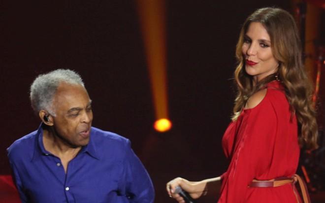 Gilberto Gil e Ivete Sangalo se apresentam no Globo de Ouro de tributo ao axé - João Franco/Canal Viva