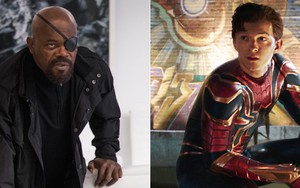 Nick Fury (Samuel L. Jackson) e Peter Parker (Tom Holland): personagens relevantes no futuro da Marvel - FOTOS: DIVULGAÇÃO/MARVEL STUDIOS