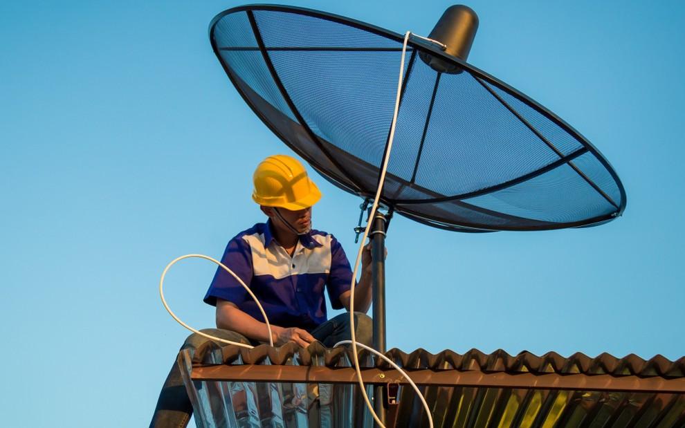satélites Banda C