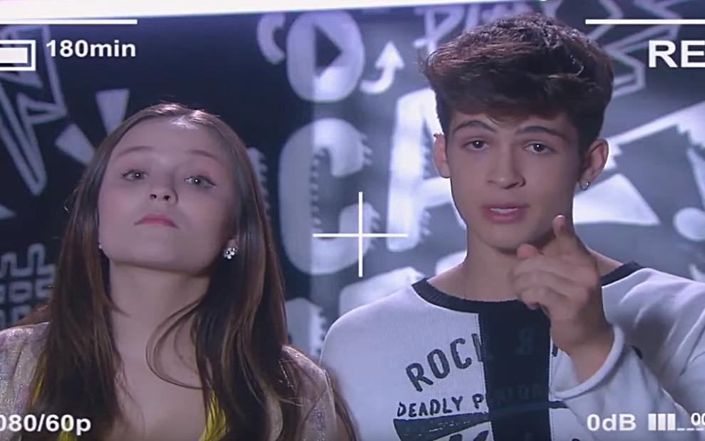 5103defd9fd99 Mirela (Larissa Manoela) e Luca Tuber (João Guilherme) iniciam campanha de  namoro