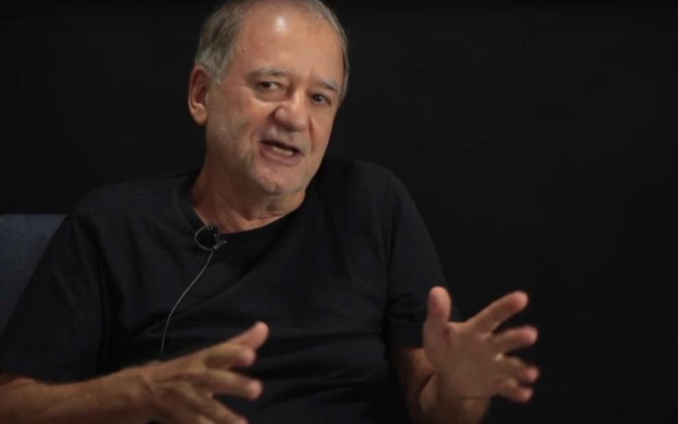 Marcílio Moraes em entrevista para o Canal Curta: autor deixa a Record após 15 anos de contrato - REPRODUÇÃO/YOUTUBE
