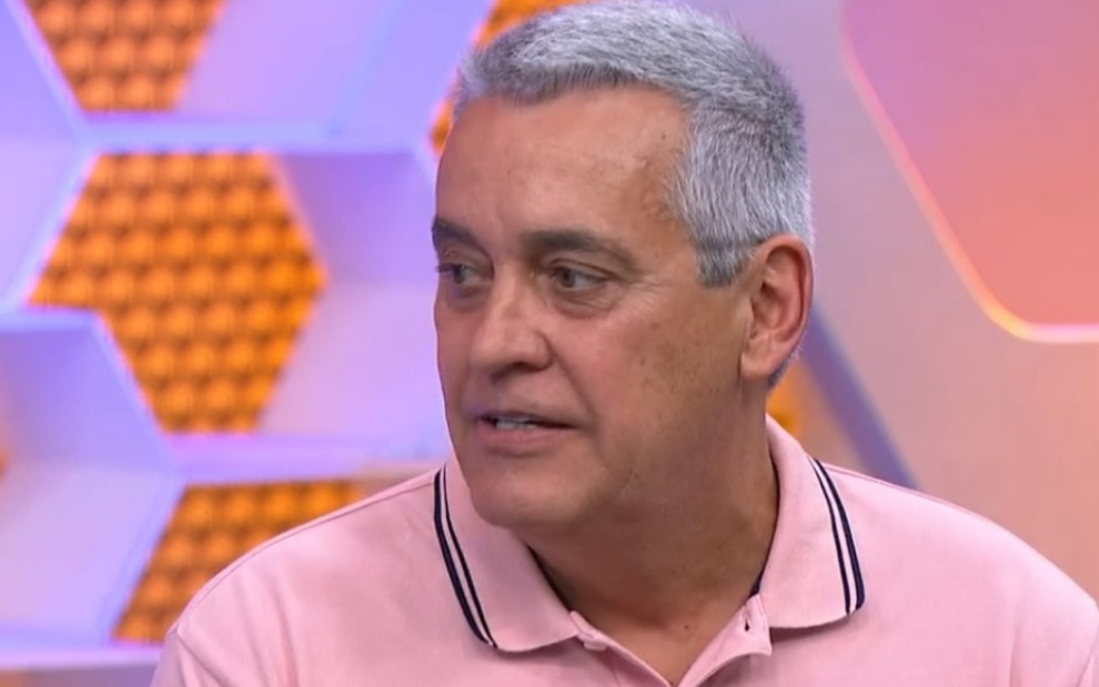 Mauro Naves no Globo Esporte: jornalista é suspeito de ser sócio de advogado que tentou acordo com Neymar - Reprodução/TV Globo