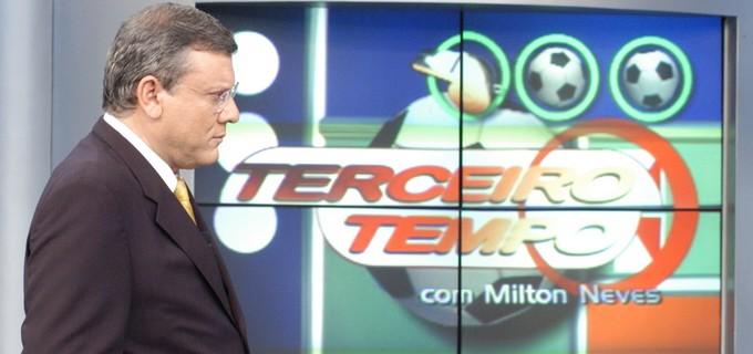 Terceiro Tempo: Milton Neves Já Fez Quatro Programas Ao Mesmo Tempo: 'Eu