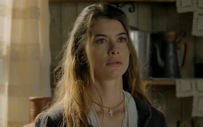 b5694c768ad0a Lívia (Alinne Moraes) que foi traída nas próximas cenas de Além do Tempo,
