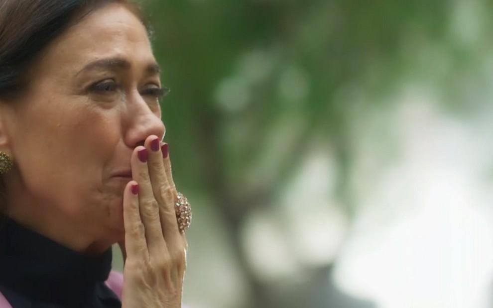 Lilia Cabral (Valentina) em cena do último capítulo de O Sétimo Guardião: novela para ser esquecida - Reprodução/TV Globo