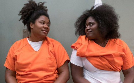 Adrienne C. Moore (Black Cindy) e Danielle Brooks (Taystee) no sexto ano de Orange Is the New Black - Fotos: Divulgação/Netflix