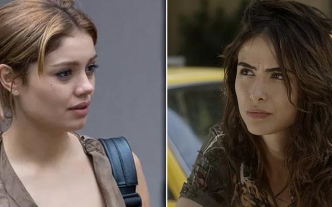 Sophie Charlotte (Alice) e Rimena (Maria Casadevall) em cenas de Os Dias Eram Assim - Reprodução/TV Globo