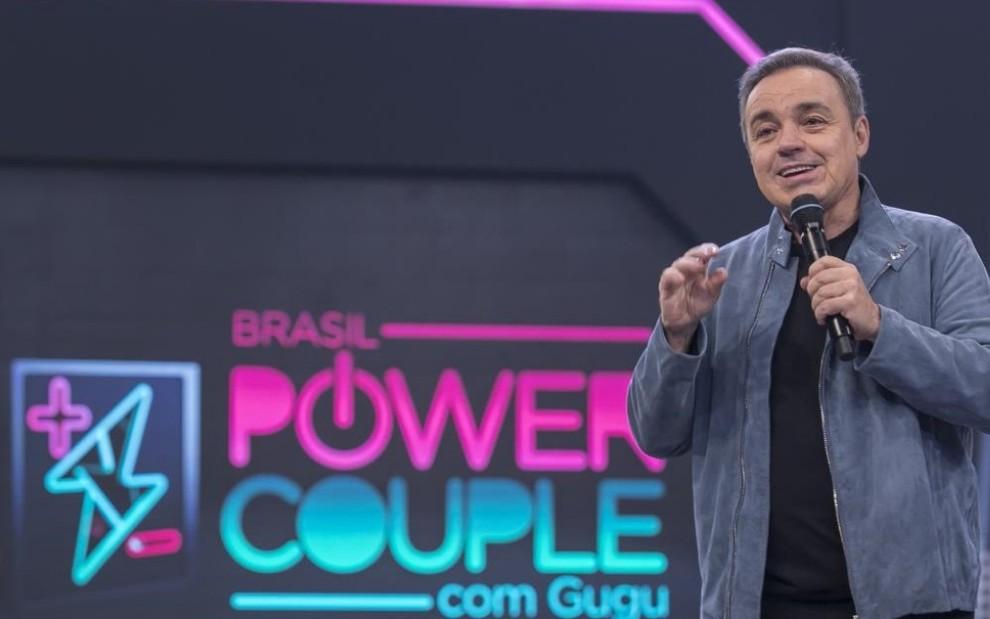 Achei que não fosse dar certo no Power Couple', diz Gugu sobre reality da  Record · Notícias da TV