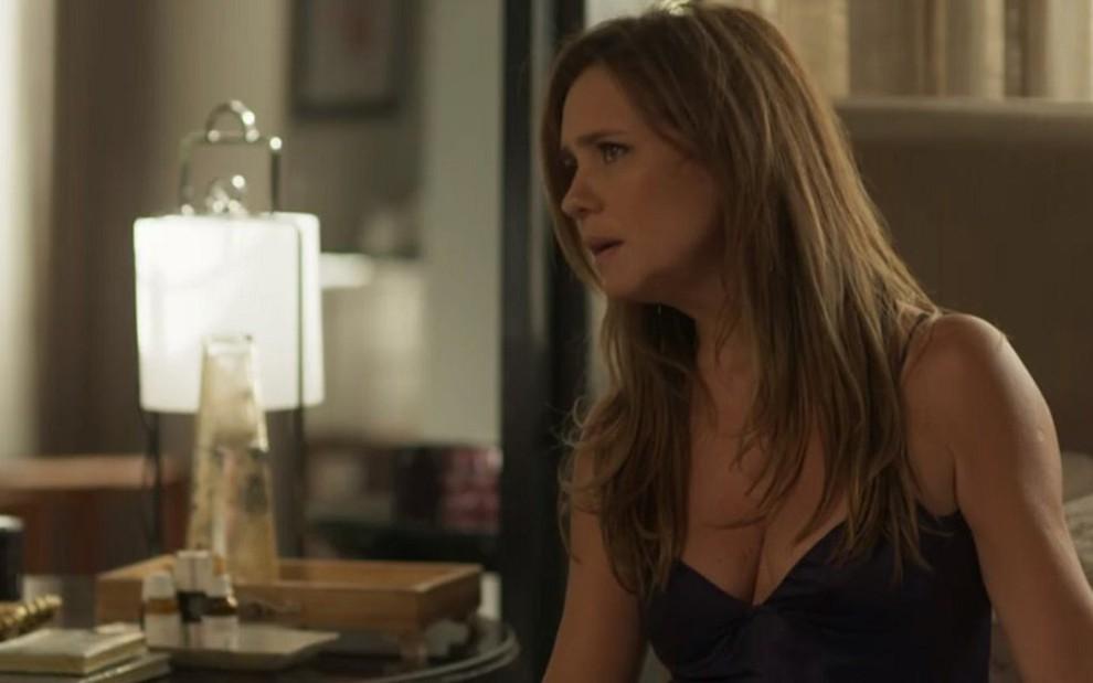 Laureta (Adriana Esteves) no capítulo de sábado (21) de Segundo Sol: audiência em alta - REPRODUÇÃO/TV GLOBO