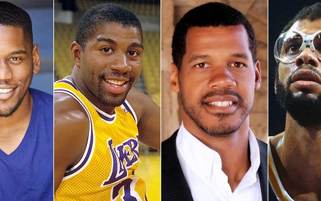 Quincy Isaiah será Magic Johnson e Solomon Hughes viverá Kareem Abdul-Jabbar em série sobre os Lakers, da HBO