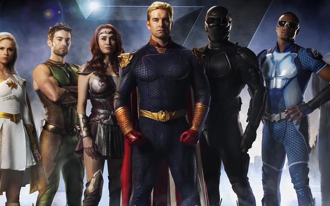 Com heróis babacas, The Boys imita DC em versão proibida para menores ·  Notícias da TV