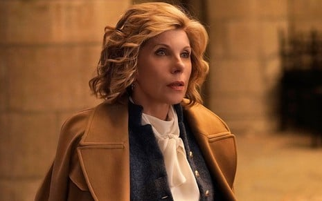 Christine Baranski na terceira temporada de The Good Fight, cartão de visita do streaming da rede CBS - Divulgação/CBS All Access