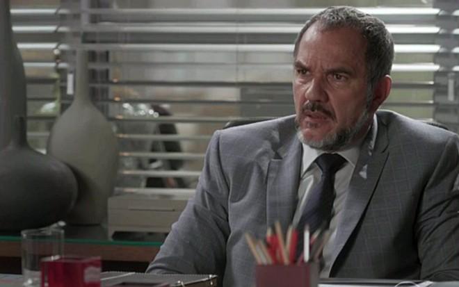 Humberto Martins (Germano) em cena de Totalmente Demais, novela das sete da Globo - Reprodução/TV Globo