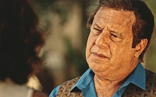 Antonio Fagundes (Afrânio) em cena de Velho Chico, novela das nove da Globo - Reprodução/TV Globo