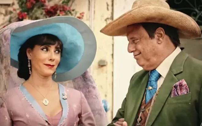 Christiane Torloni (Iolanda) e Antonio Fagundes (Afrânio) em cena de Velho Chico - Reprodução/TV Globo
