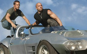 Os personagens de Velozes & Furiosos 5 Brian O'Conner (Paul Walker) e Dominic Toretto (Vin Diesel)