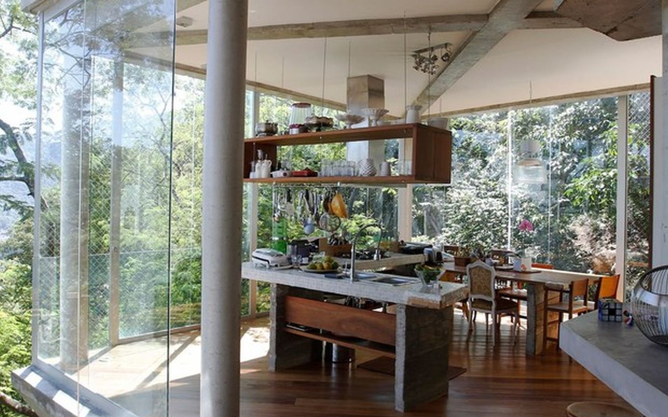 casa arvore caio blat divulgacao airbnb Caio Blat charges R$ 2,000 for a tree house with a sea view; see pictures