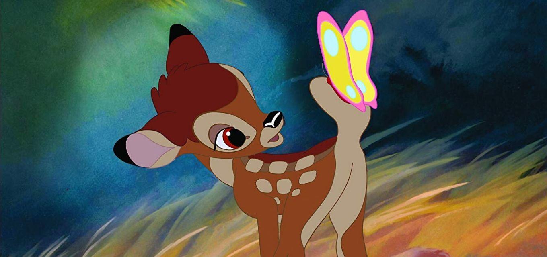 Clássico da década de 1940 acompanha a jornada de Bambi na floresta