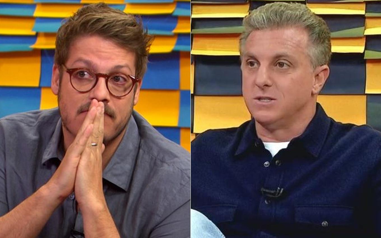 Fábio Porchat e Luciano Huck no canal GNT