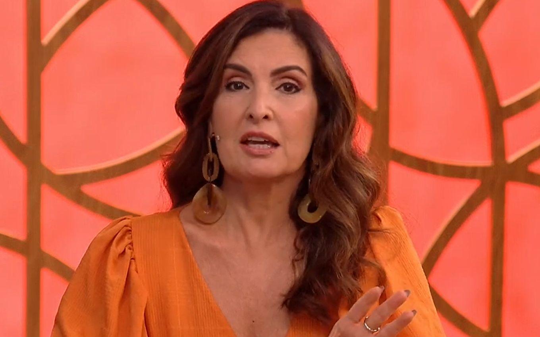 Fátima Bernardes revela queimadura em acidente doméstico e