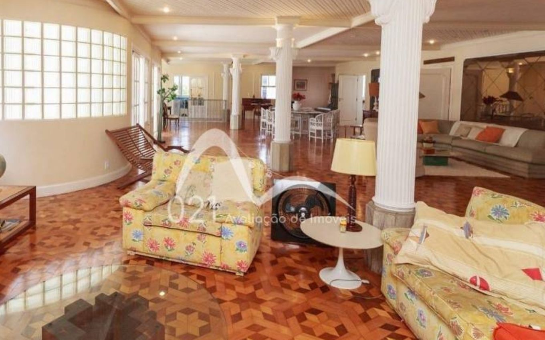 globo cenario novela lacos de familia edificio simoger cobertura sala 2 foto divulgacao Coverage of Helena's building in Laços de Família is for sale for R $ 11 million